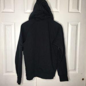 Nike Tops - SOLD***NIKE Black Zip Up Sweatshirt Hoodie